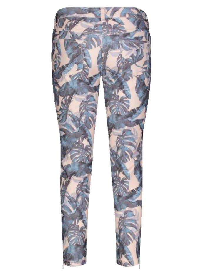 Jeans im farbharmonischen Druck