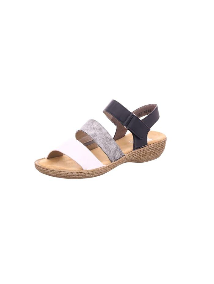 Rieker Sandalen/Sandaletten, metall