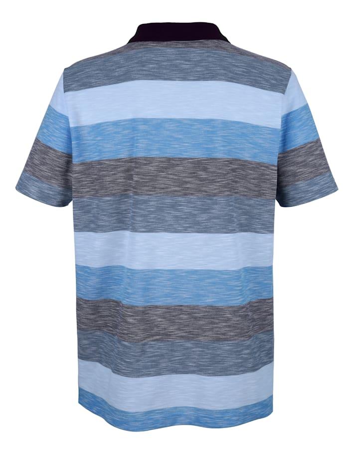 Poloshirt in modischer Optik