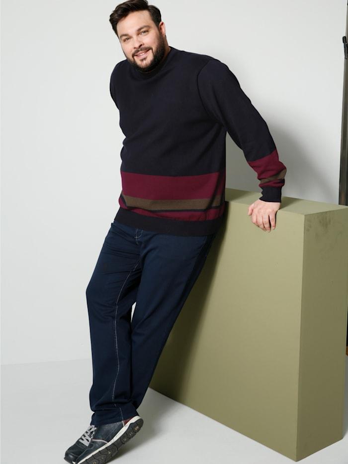 Pullover mit Streifendesign