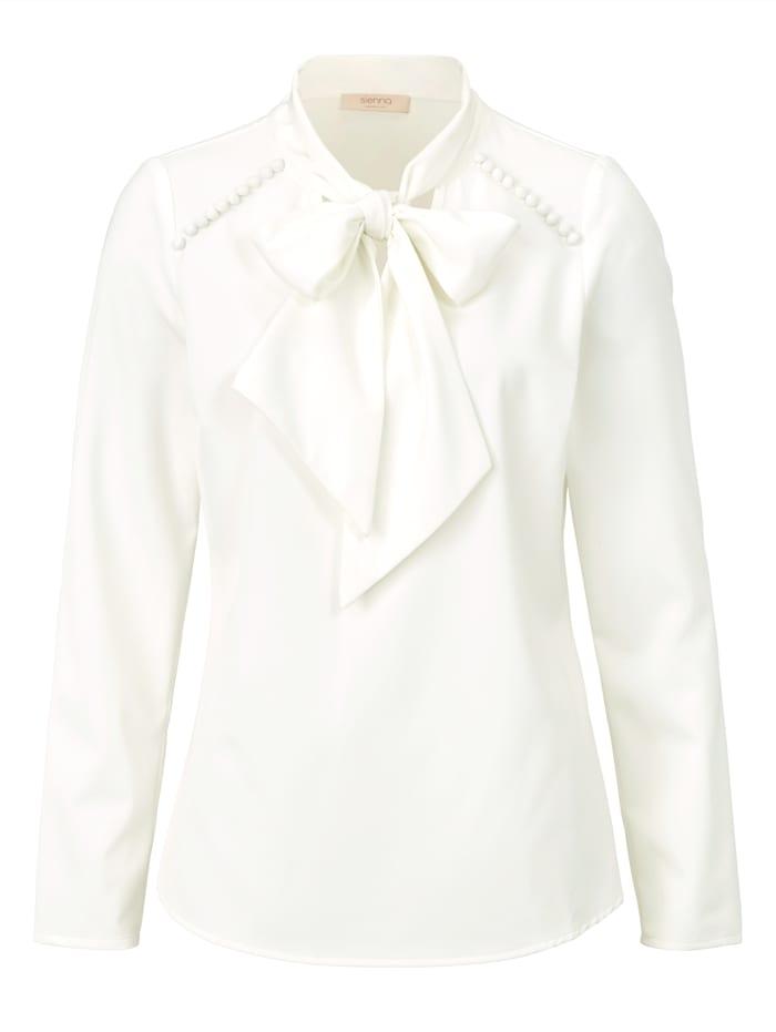 SIENNA Bluse, Creme-Weiß