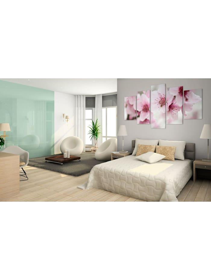 Wandbild Kirschblüte - freundlich und sanft