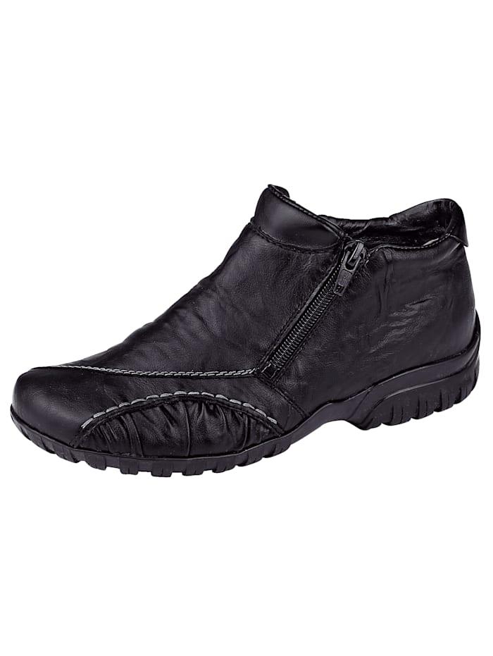 Rieker Hoge schoen, Zwart