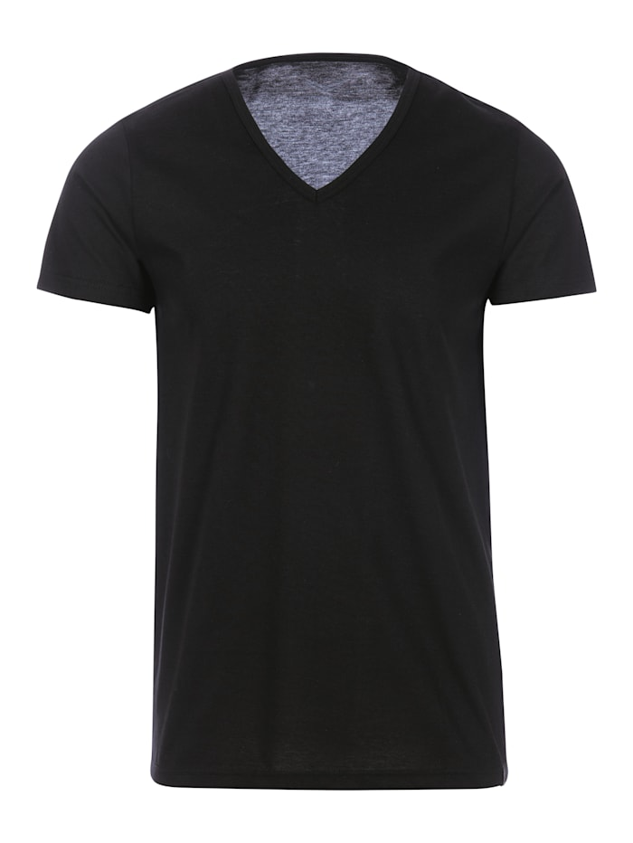 Damen V-Shirt Slim Fit