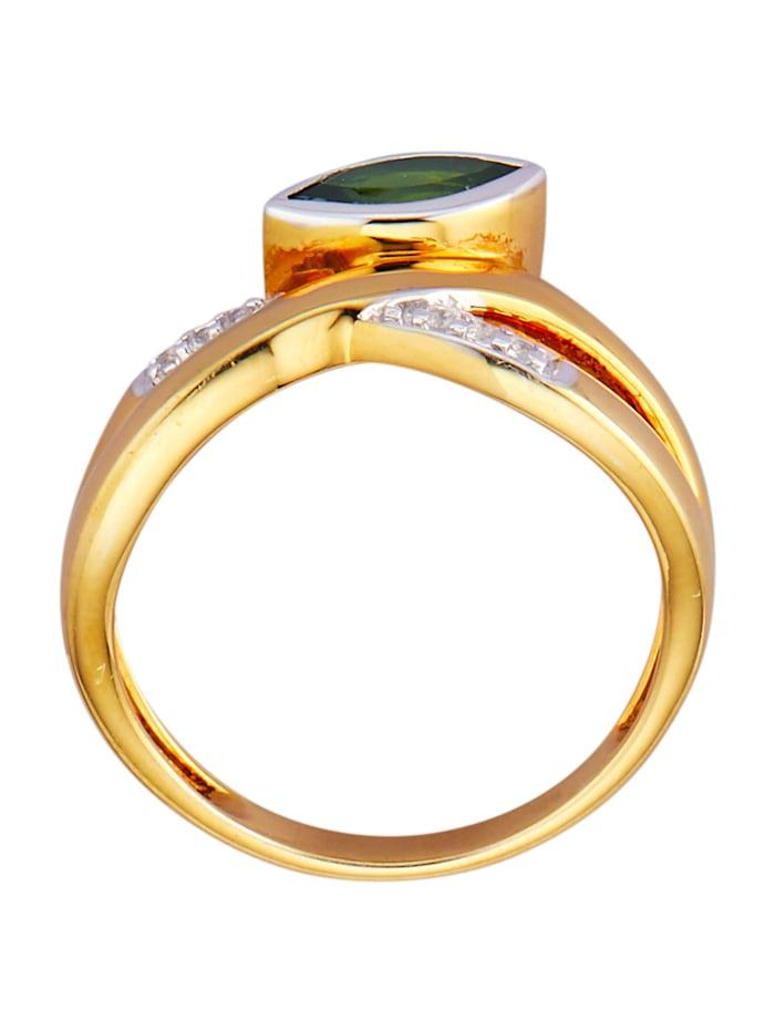 Damenring in Silber 925 vergoldet