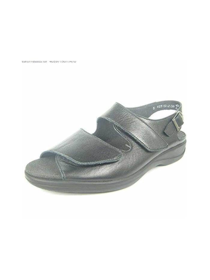 Solidus Sandalen/Sandaletten, schwarz