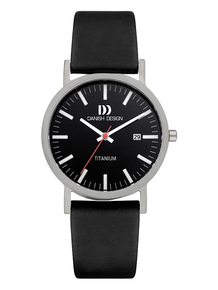 Danish Design Herrenuhr 3316351, Schwarz