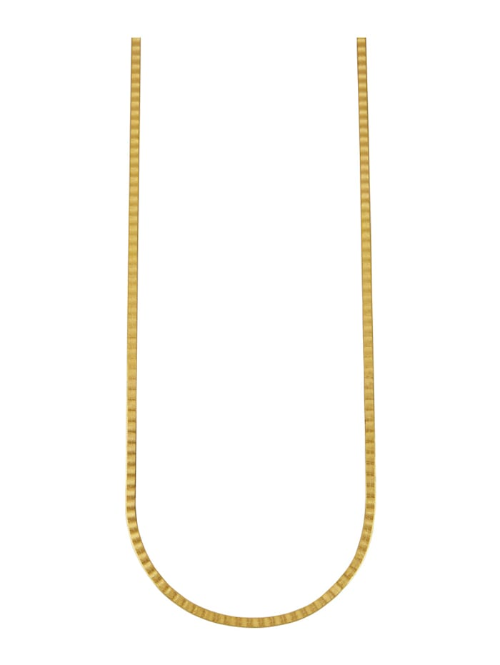 Herringbone-Kette in Massiv Gelbgold 333, Gelbgoldfarben