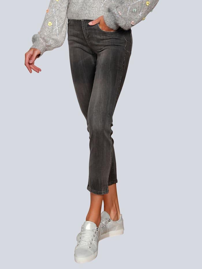 OUI Jeans in modischer Optik, Grey