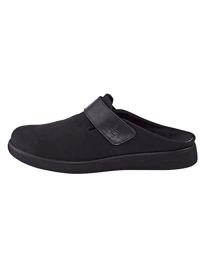 Pantoffel mit auswechselbarem Fußbett