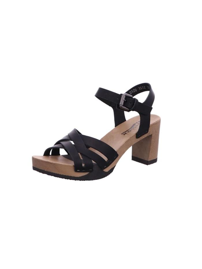 Softclox Sandalen/Sandaletten, schwarz