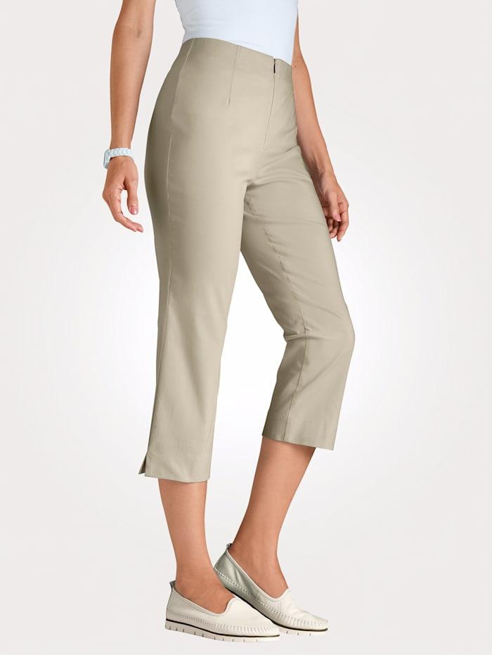 MONA 7/8 Hose mit Baumwolle Basic, Sand