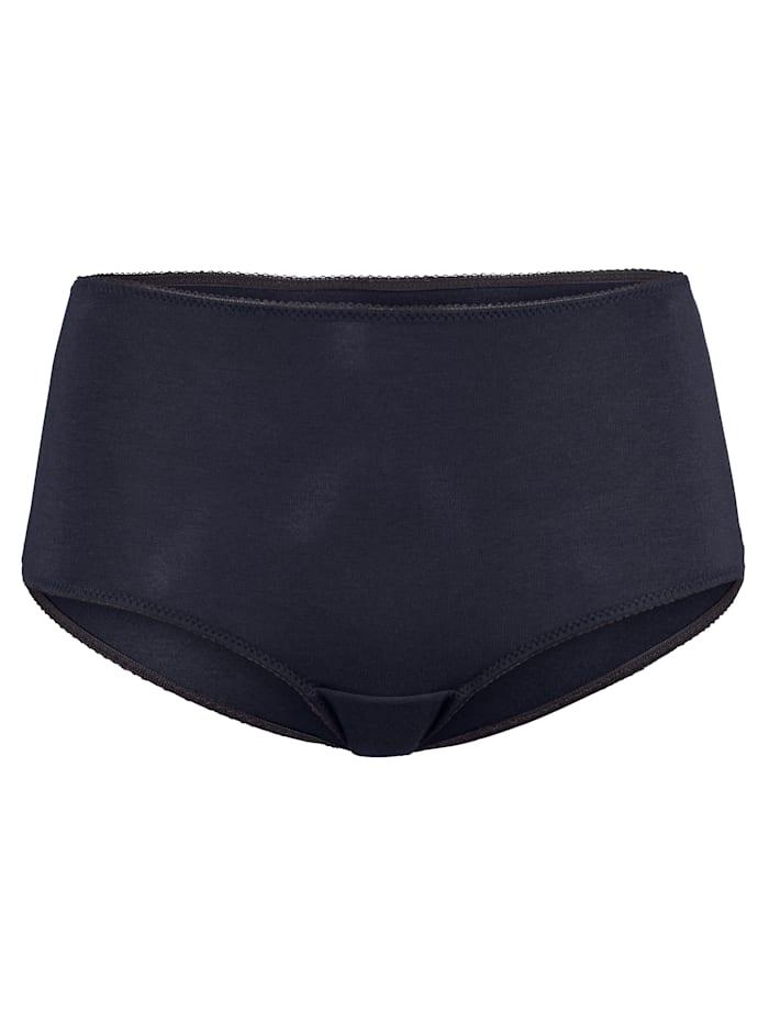 Simone Maxi nohavičky z tvarovo stálej, mäkkej modalovej kvality, námornícka