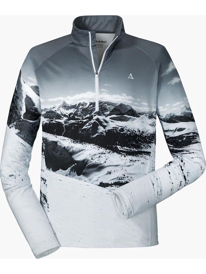 Schöffel Schöffel Shirt Longsleeve Trois Vallees 900, Grau