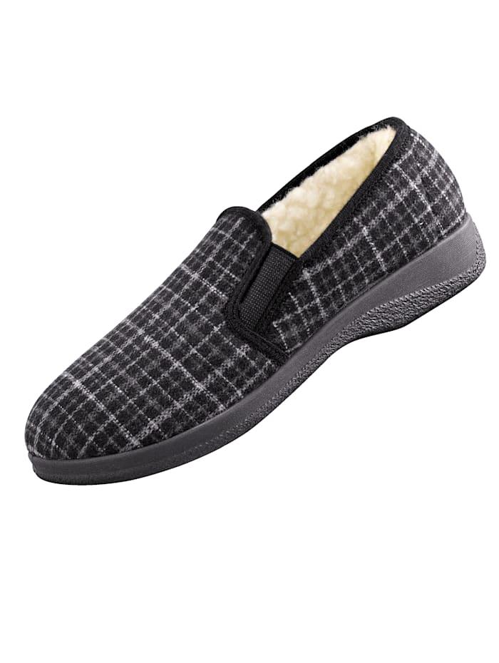 Chaussures d'intérieur homme, Gris
