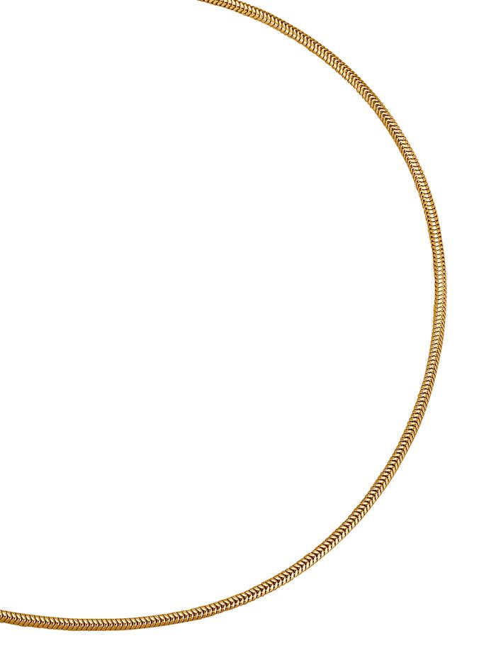 Amara Or Chaîne maille serpent en or jaune, Coloris or jaune