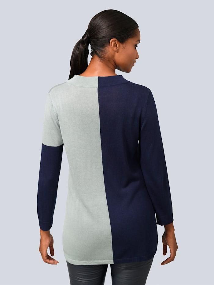 Pullover mit Seiden-Anteil