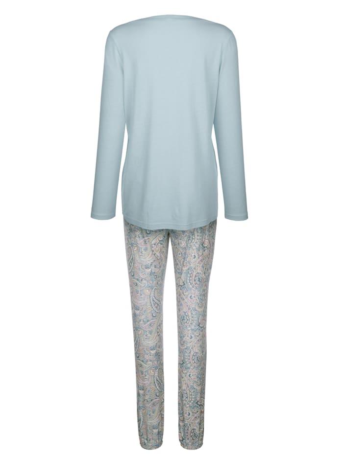 Kukkakuosinen pyjama