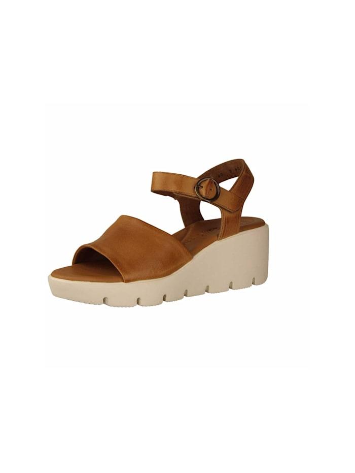 Paul Green Sandale Sandale, mittel-braun