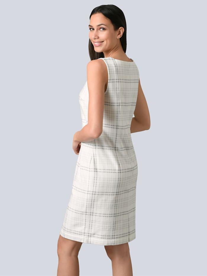 Kleid aus leicht aufgerauhter Ware