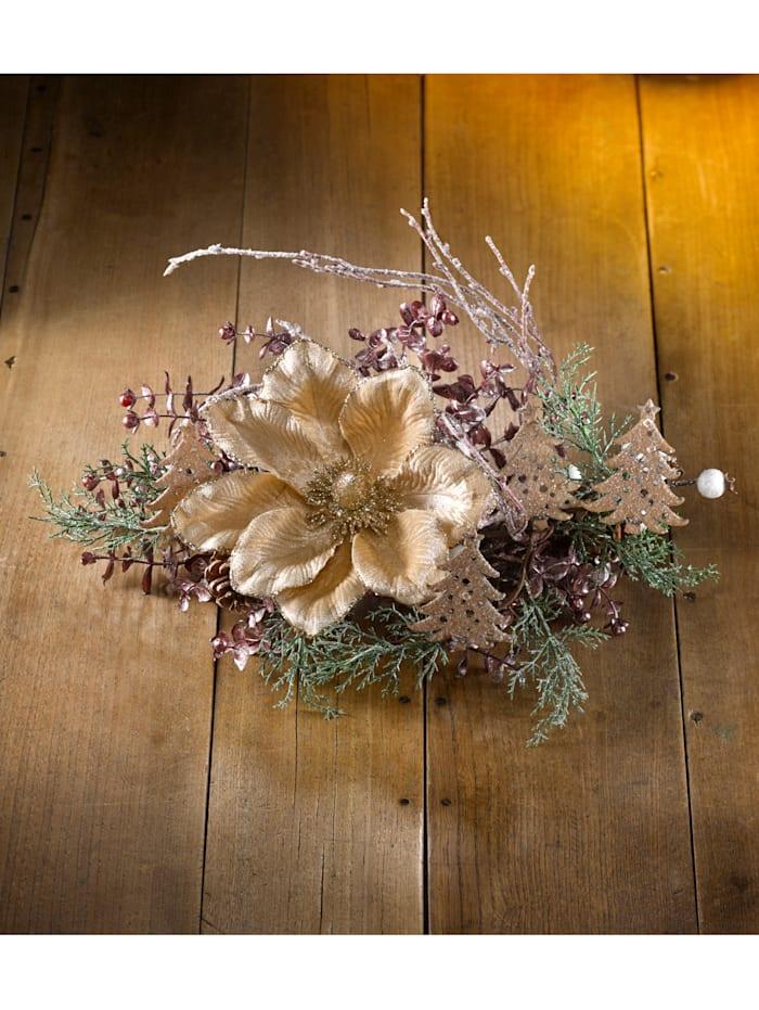 Borddekoration – magnolia