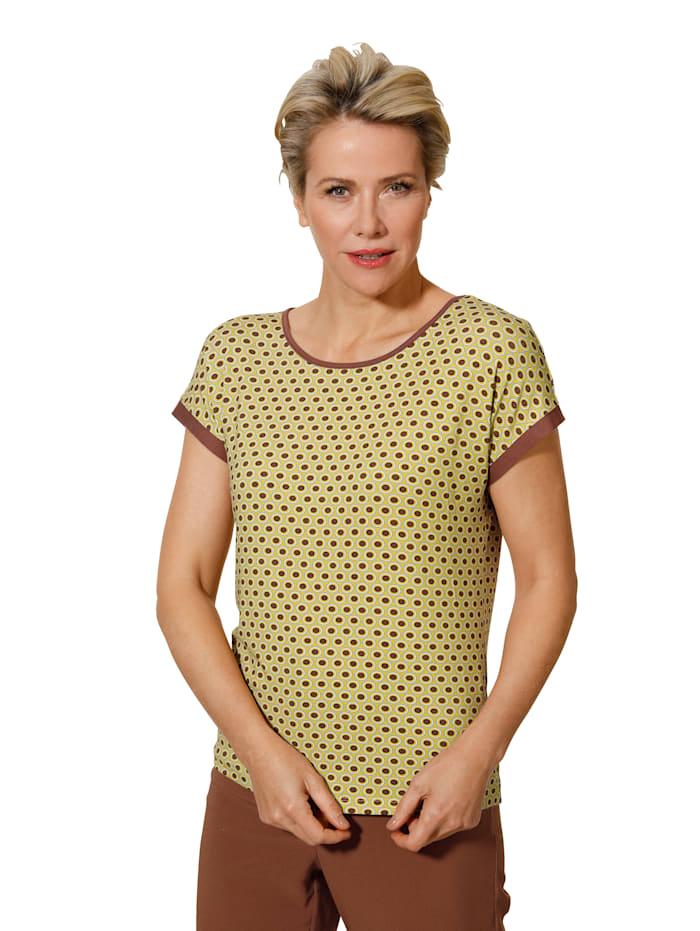 T-shirt à imprimé graphique minimaliste