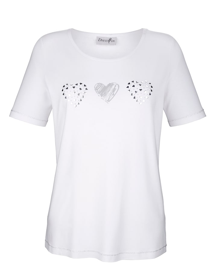 Top with small heart detailing