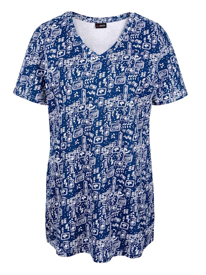 T-shirt long en pur coton biologique