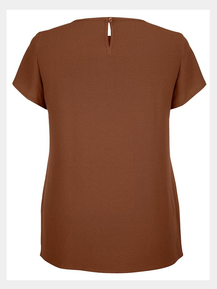 Shirtbluse in feiner Crepe-Qualität