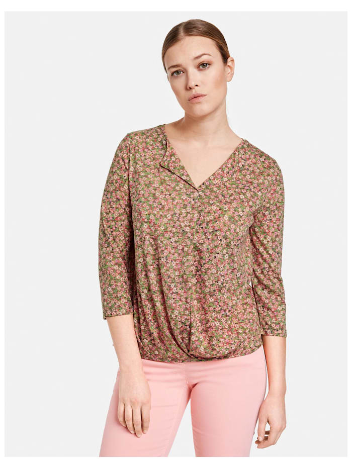 3/4 Arm Shirt mit Flowerprint