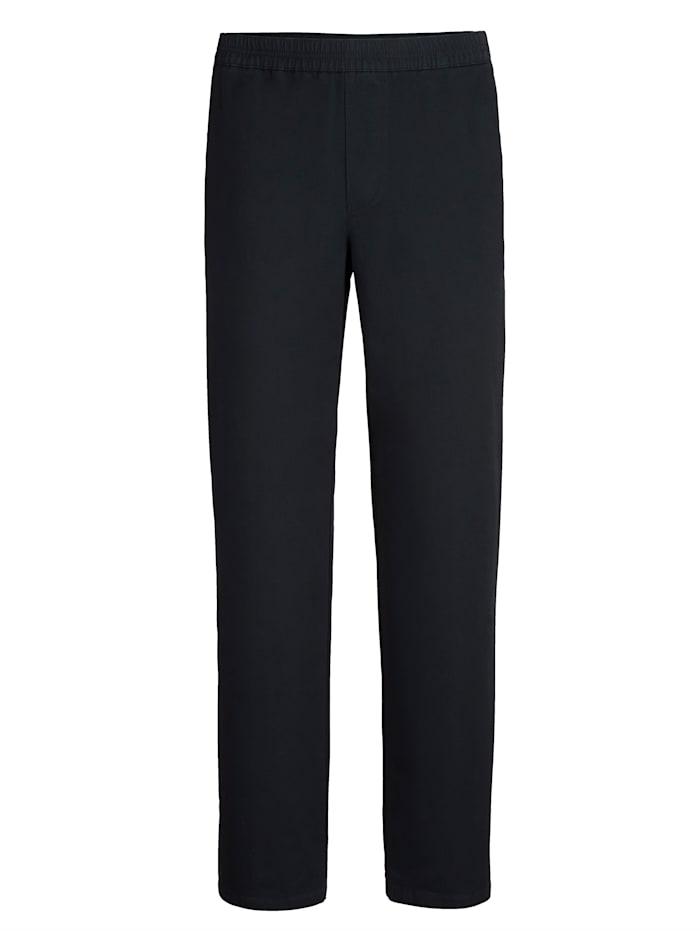 BABISTA Pantalon à taille élastiquée, Marine