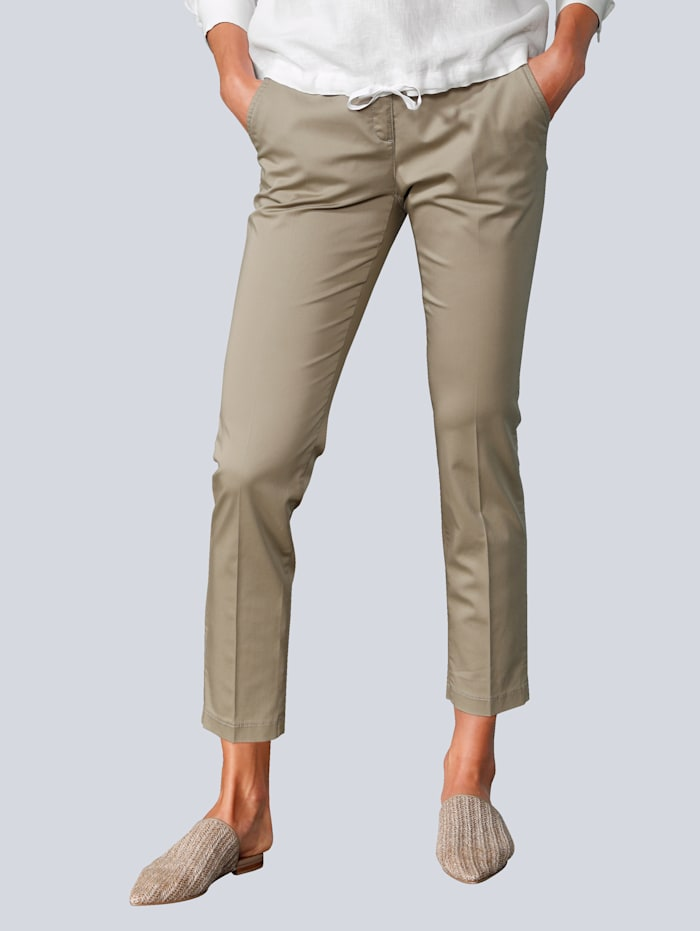 BRAX Hose in modischer Form, Khaki