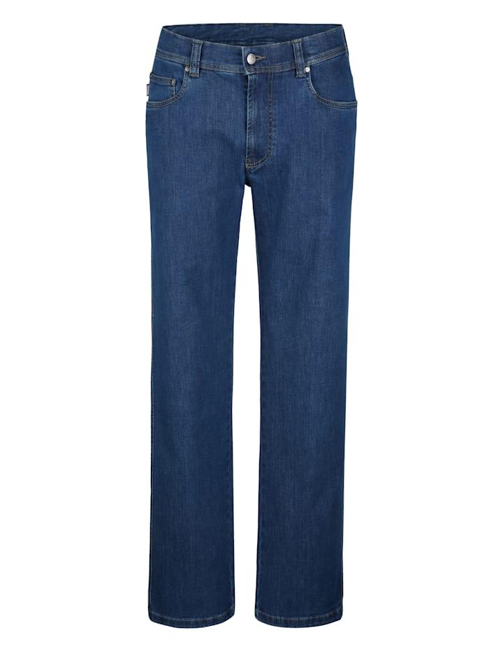 Brühl 5-Pocket Jeans in 5-Pocket Form, Blue stone