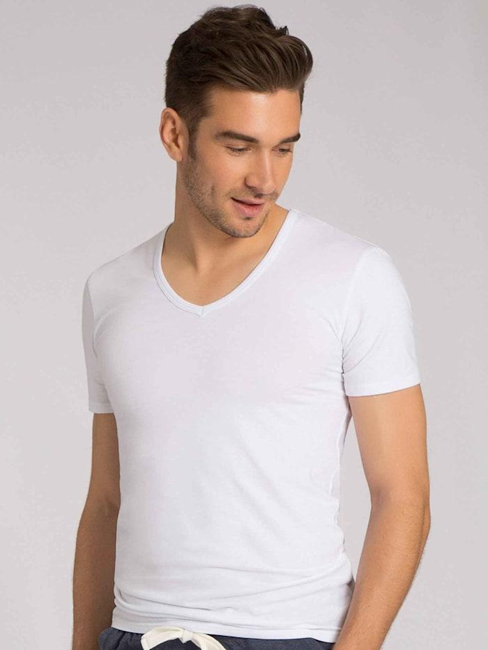 V-Shirt, 2er Pack Ökotex zertifiziert