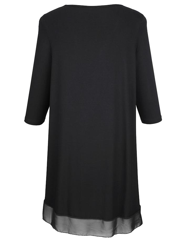 Sifonkihelmainan pitkän mallinen paita