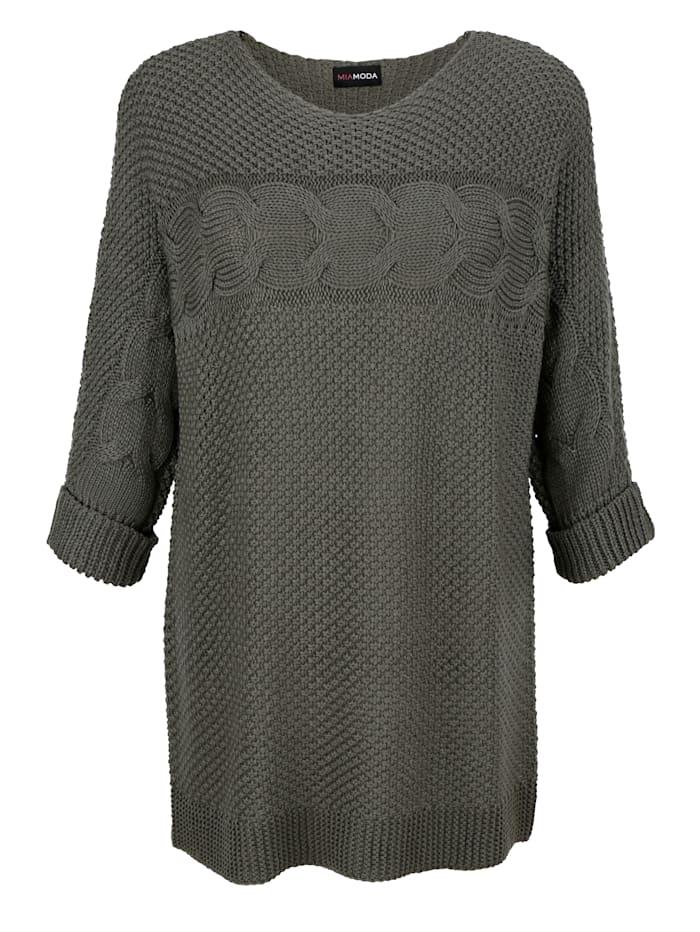 Pullover halbtransparent gestrickt
