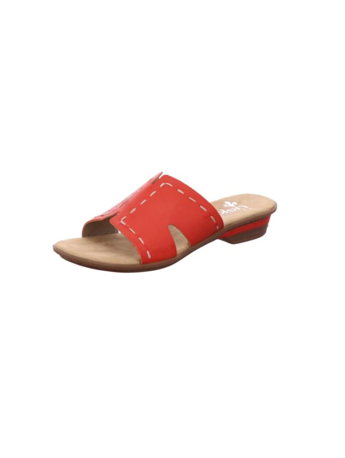 Rieker Sandale von Rieker, rot