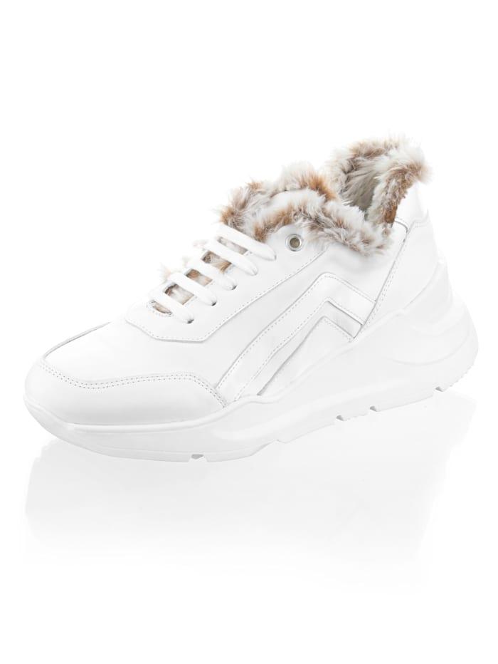 Alba Moda Sneakers med chunky-sula, Vit