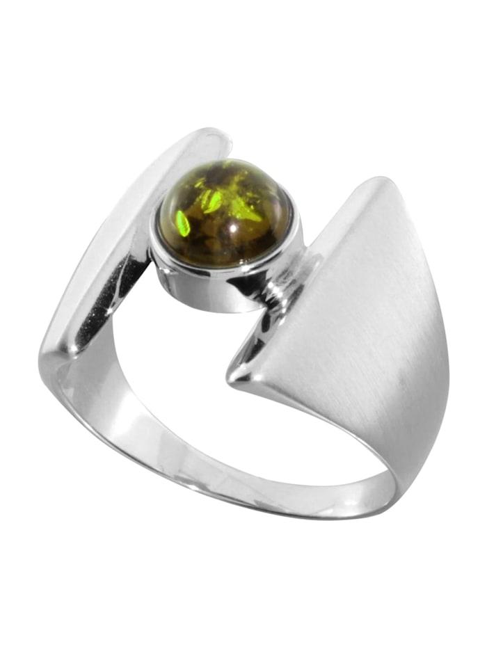 OSTSEE-SCHMUCK Ring - Asina - Silber 925/000 - Bernstein, silber