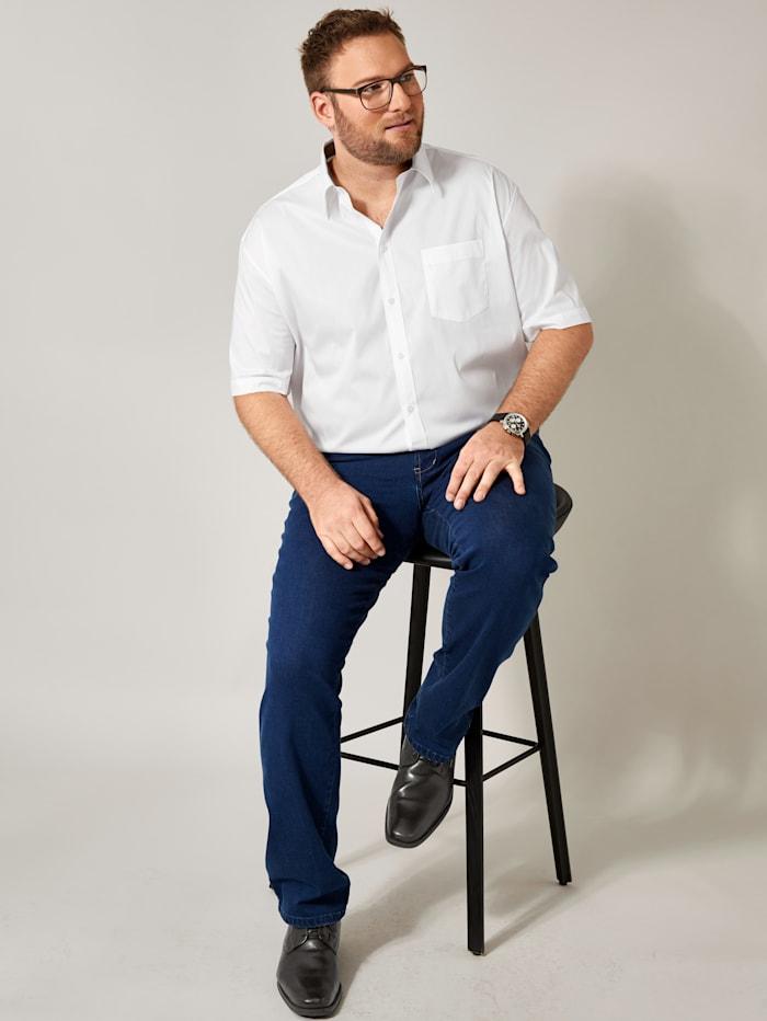 Men Plus Spezialschnitt Hemd, Weiß