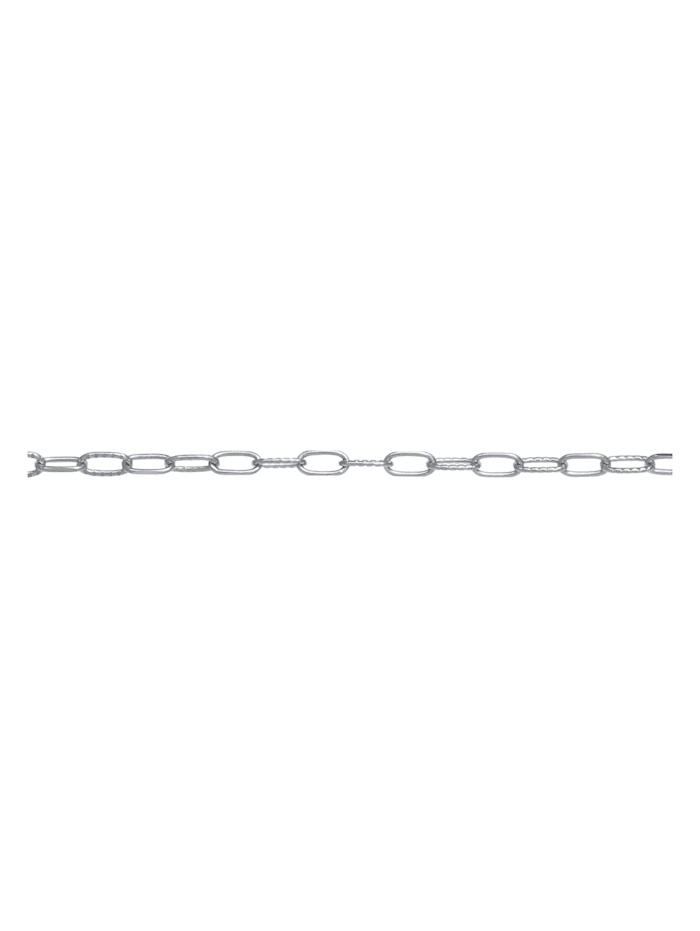 Halskette Choker Gliederkette Oval Trend 925 Silber