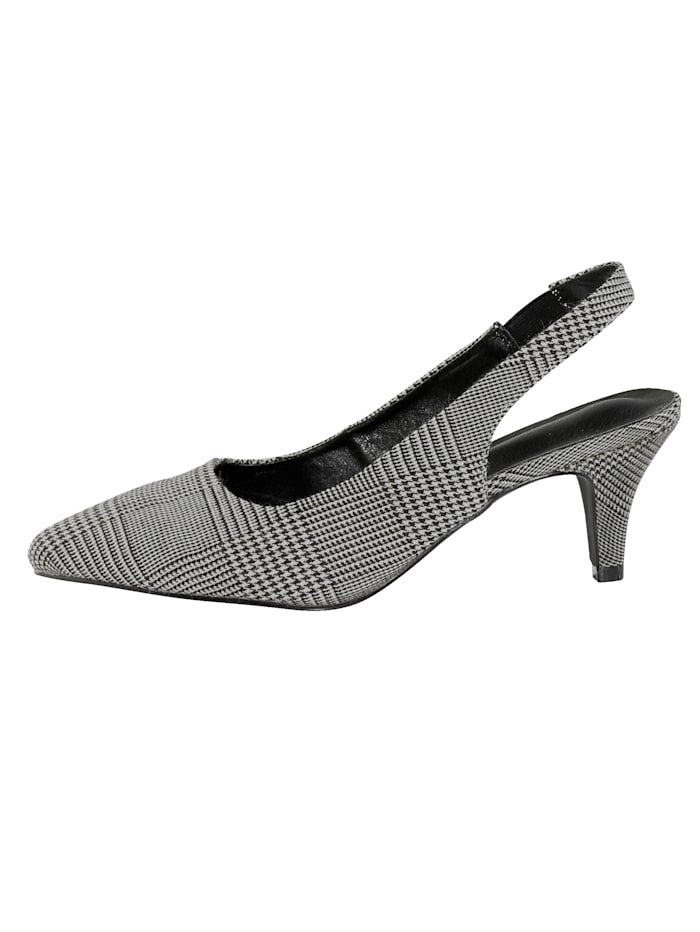 Sling obuv s Glencheck-vzorom