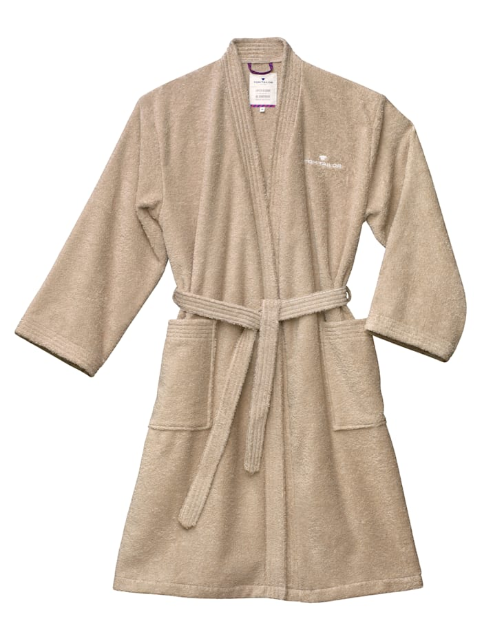 Tom Tailor Bademantel Kimono Catania, sand