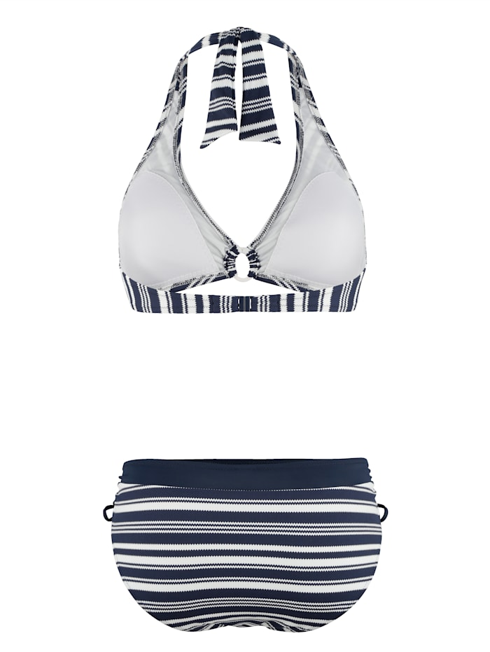 Bikini met streepdessin