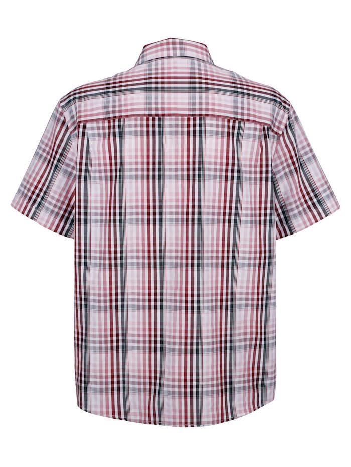 Skjorte med rutemønster