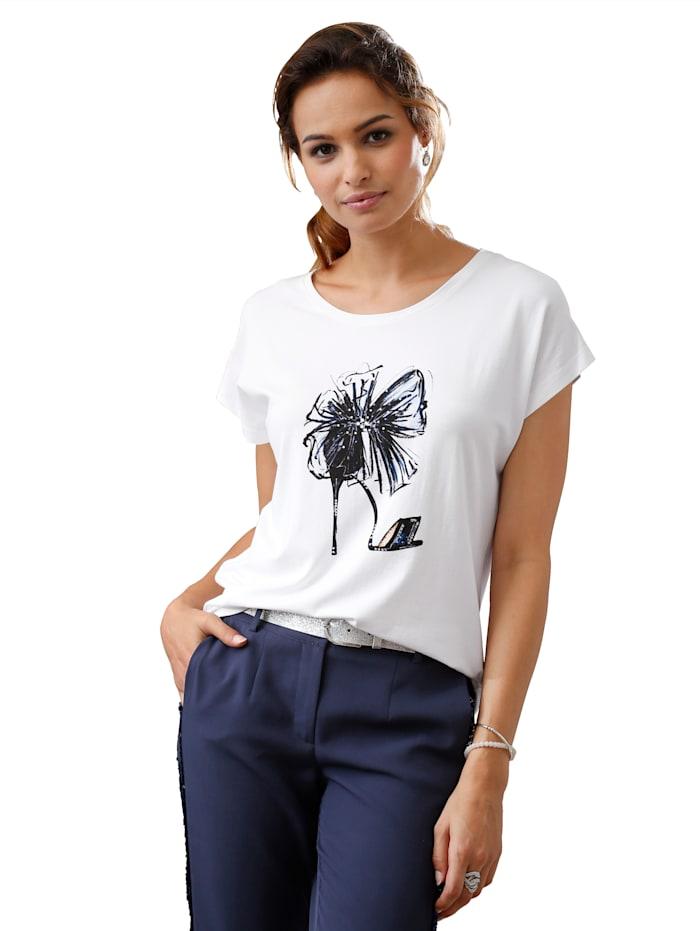 T-shirt à imprimé tendance devant