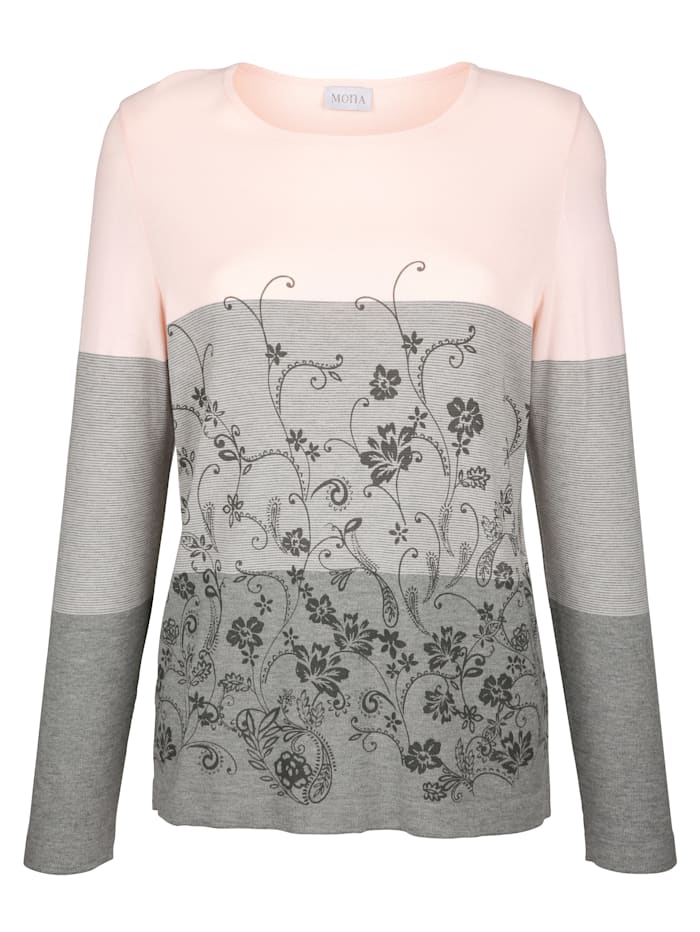 Jumper with a floral print