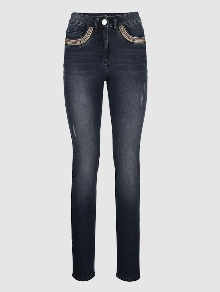 Jeans i modell Laura Slim