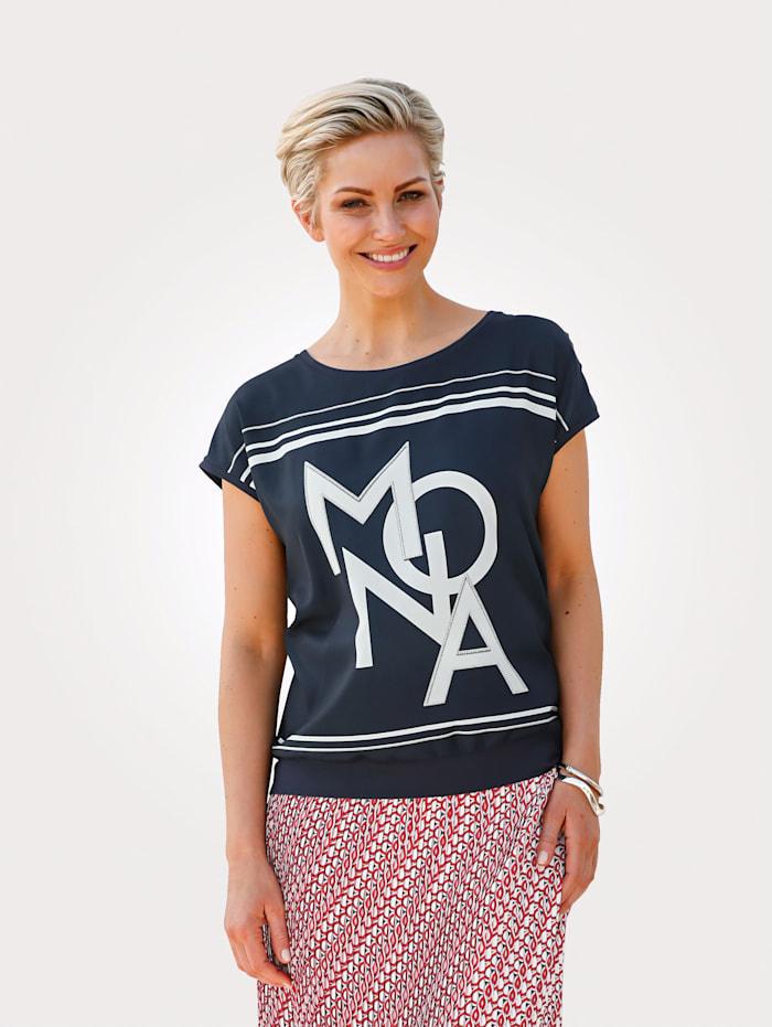 Shirt mit MONA-Schriftzug