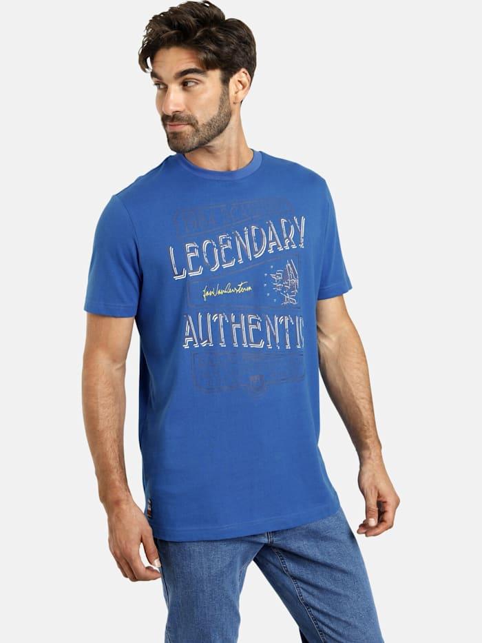Jan Vanderstorm T-Shirt RIAAN, blau